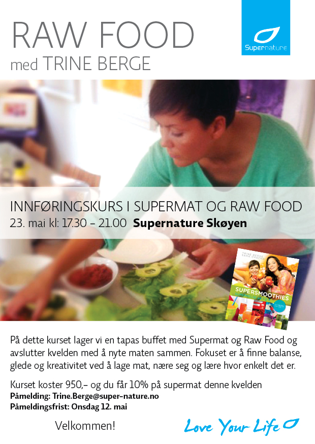 25.05.2013-Raw Food med Trine Berge-A5-2013-2